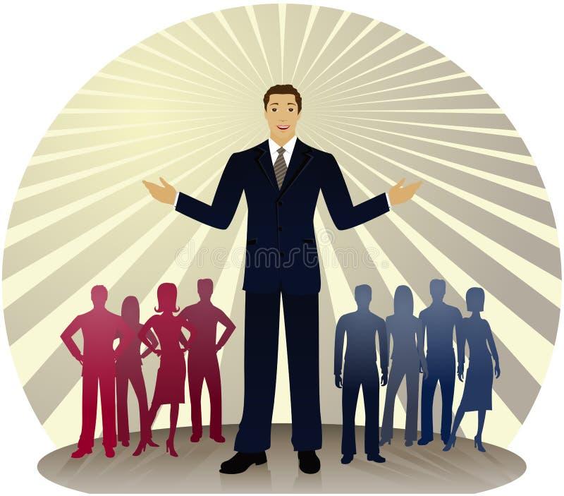 kolor politycznego royalty ilustracja