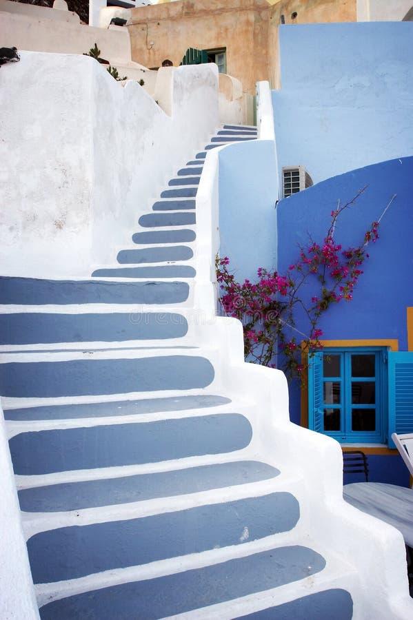 kolor schody. zdjęcia royalty free