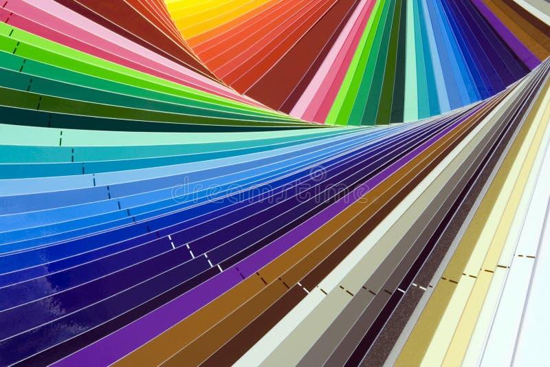 kolor skala obrazy stock