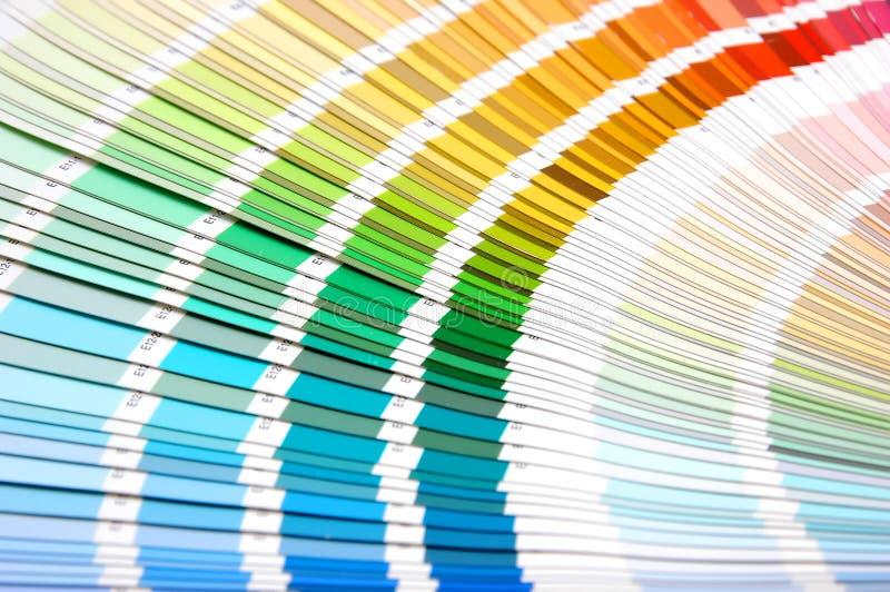 kolor skali obrazy stock