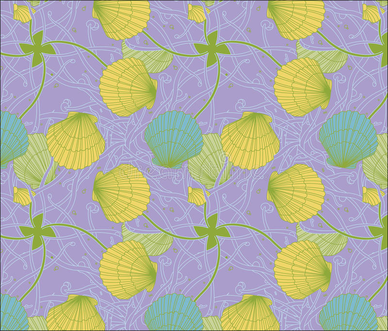 Kolor skorupy wzoru serie zdjęcie stock