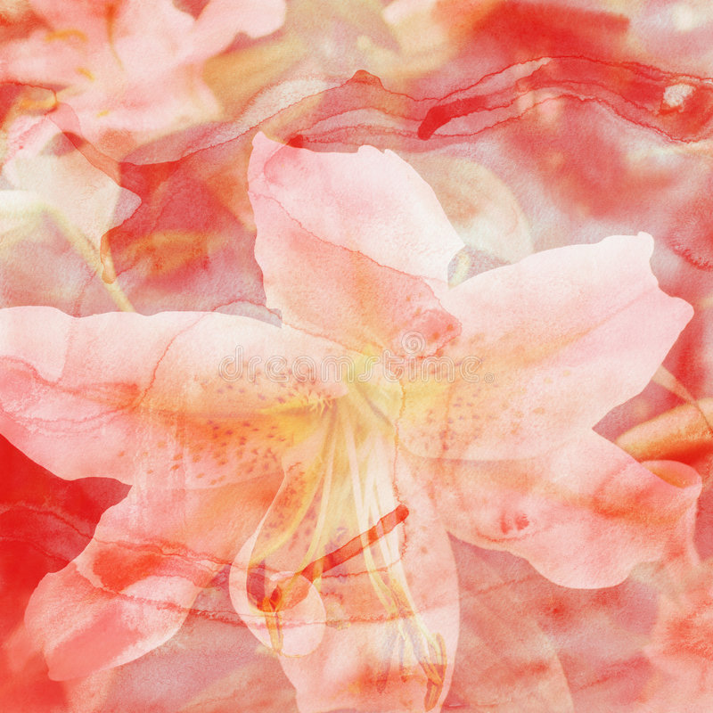 kolor tła kwiatek wody obraz royalty free