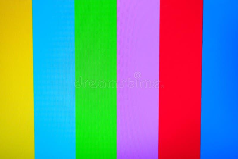 Kolor TV bez sygnałowego tła zdjęcie royalty free