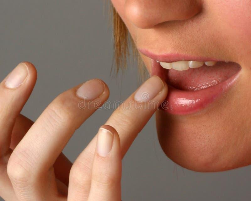 kolor usta do kobiet zdjęcia stock