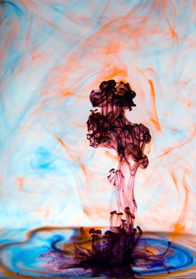 kolor wybuchu, zdjęcie royalty free