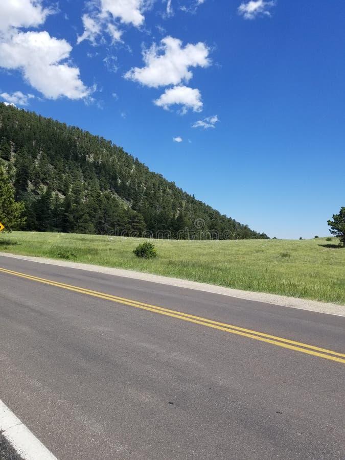 Kolorado autostrada Skaliste góry obraz stock