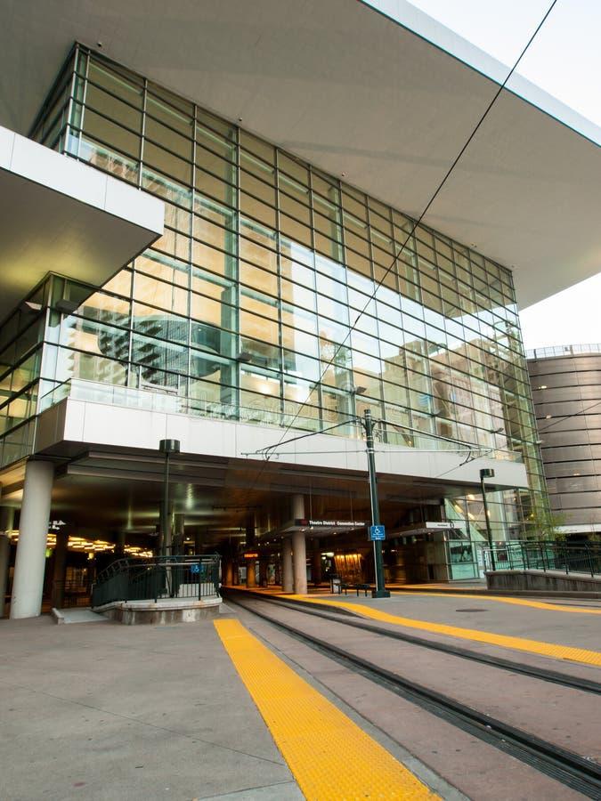 Kolorado convention center zdjęcie royalty free