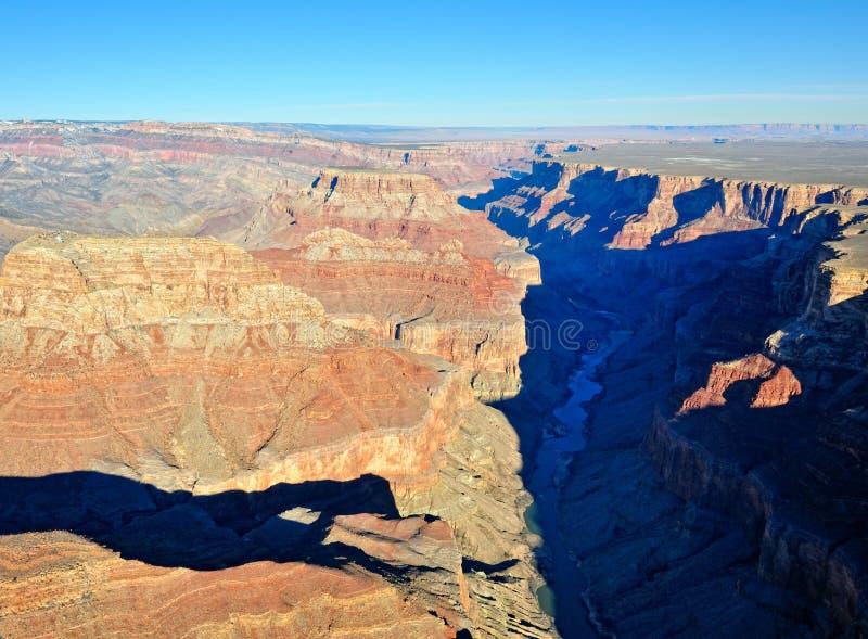 Kolorado-Fluss Grand Canyon lizenzfreies stockfoto