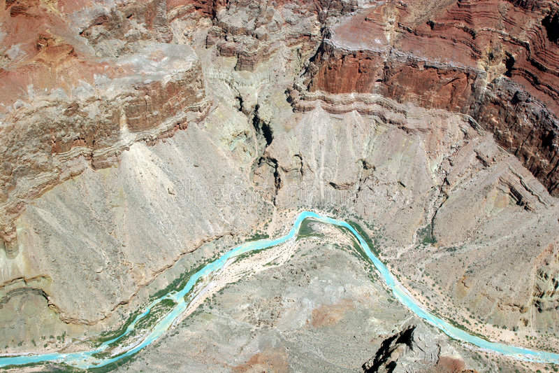 Kolorado-Fluss- Grand Canyon lizenzfreie stockfotografie