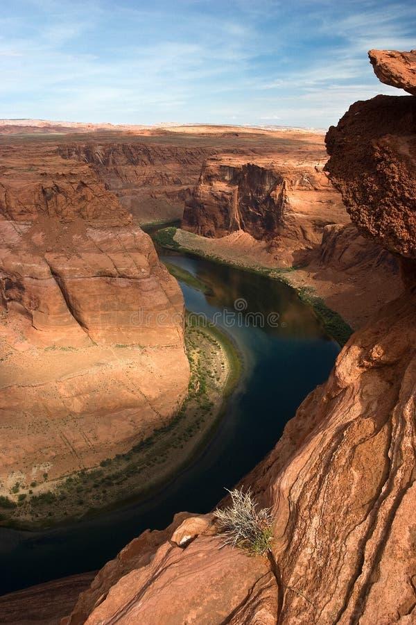 Kolorado-Fluss und Schlucht-Schlucht stockfotografie