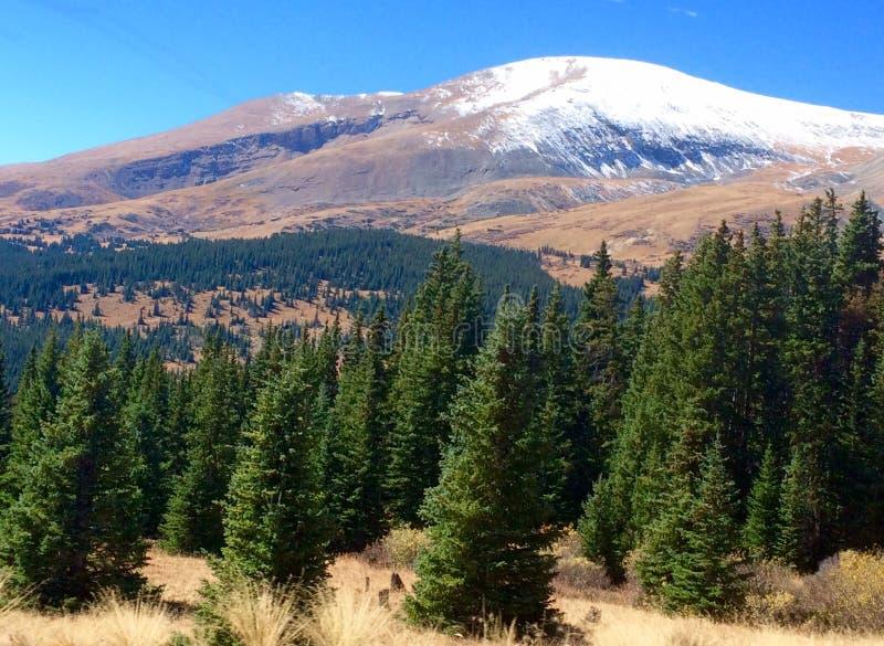 Kolorado gór Kontynentalny podział fotografia royalty free