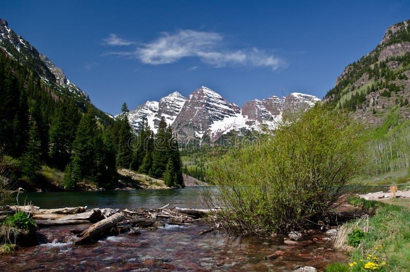 Kolorado góry obrazy stock