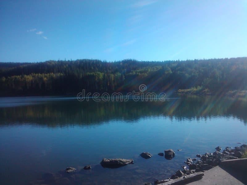 Kolorado Mesa jezioro zdjęcie stock