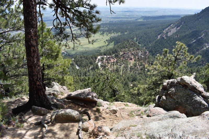 Kolorado Mountain View fotografia royalty free