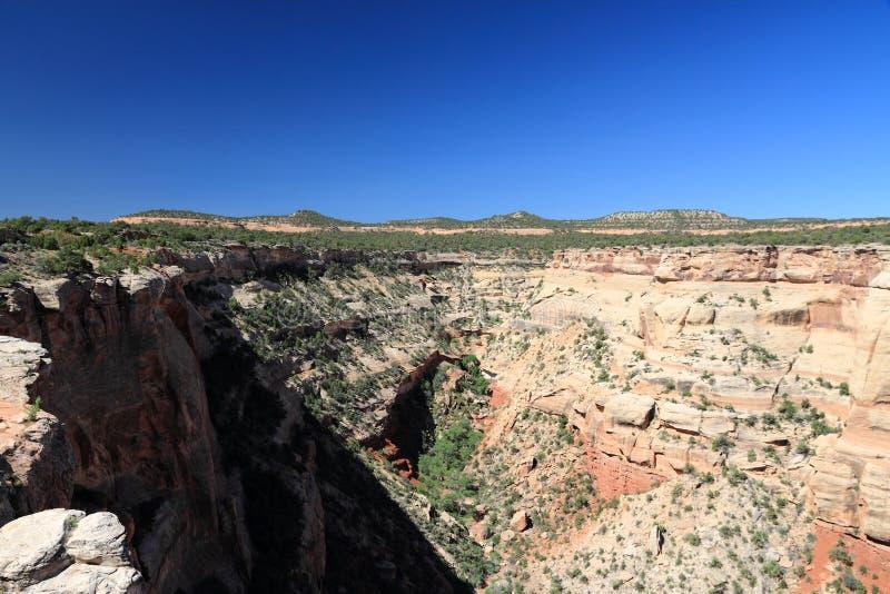 Kolorado-nationales Denkmal stockfotografie