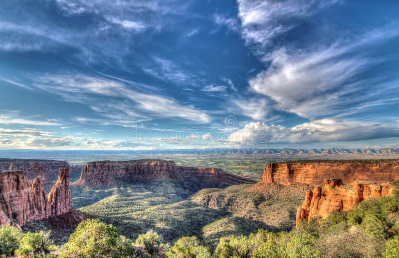 Kolorado-nationales Denkmal lizenzfreies stockbild