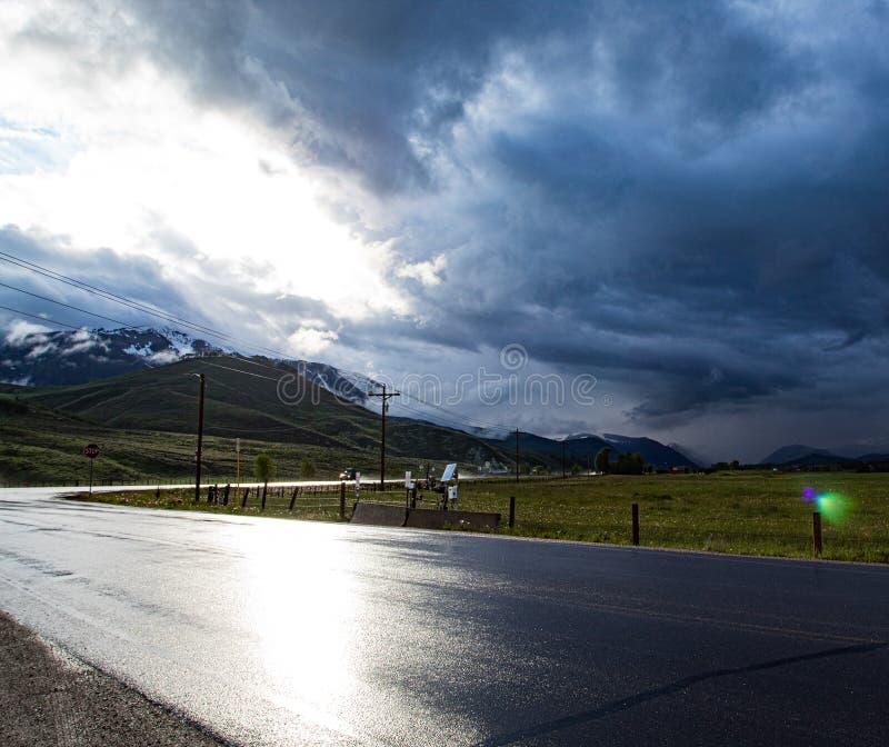 Kolorado rozdroża zdjęcia royalty free