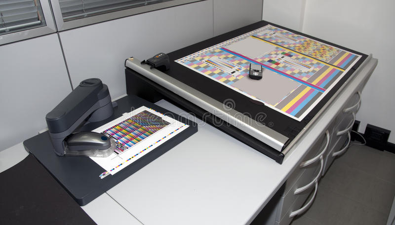 Kolorimetrielabor lizenzfreie stockfotografie