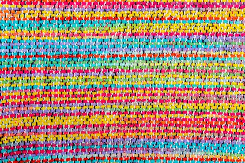 Kolorowa afrykańska peruvian stylu dywanika powierzchnia zdjęcia royalty free