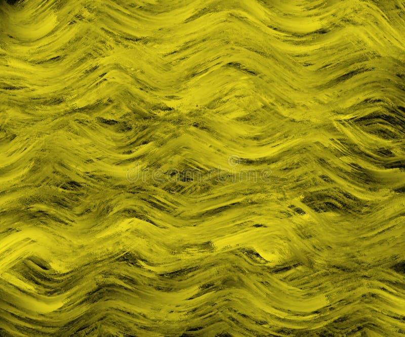 Kolorowa akwareli fal tła wzoru tekstura dla prezentacji lub strony internetowej tła ilustracji