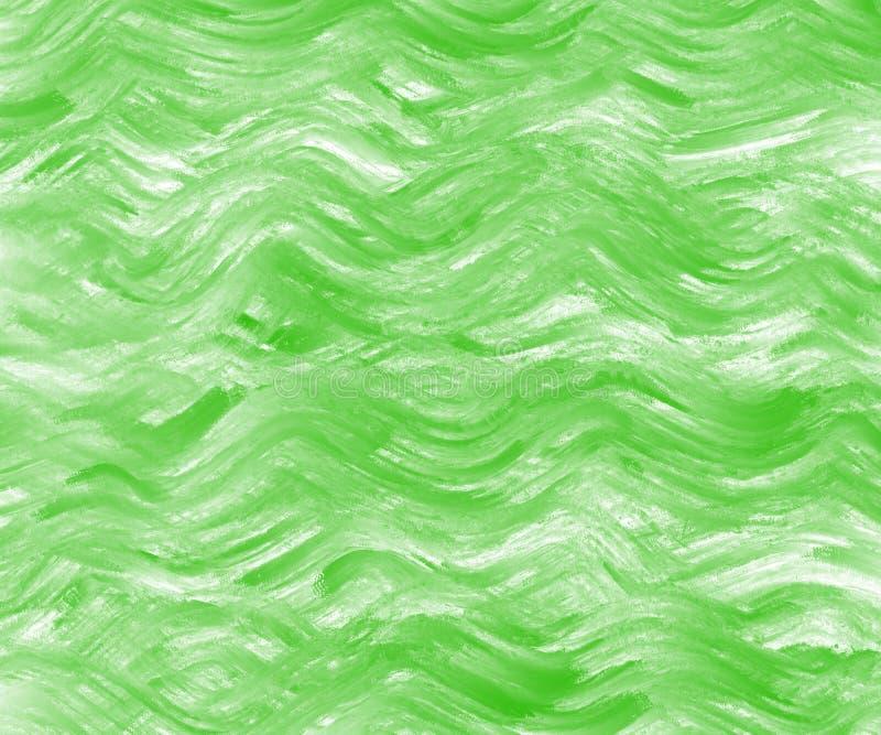 Kolorowa akwareli fal tła wzoru tekstura dla prezentacji lub strony internetowej tła ilustracja wektor
