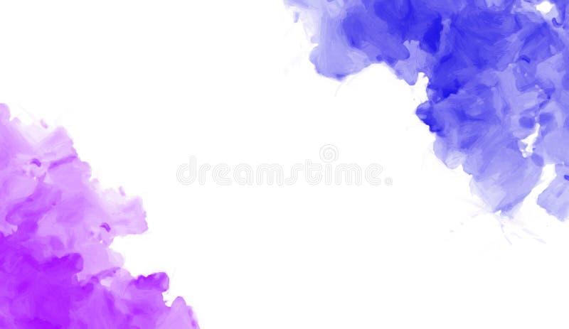 Kolorowa akwareli tekstura Dzisiejsza ustawa Moczy pluśnięcie Projekt dla tło, tapet, pokryw i pakować, royalty ilustracja