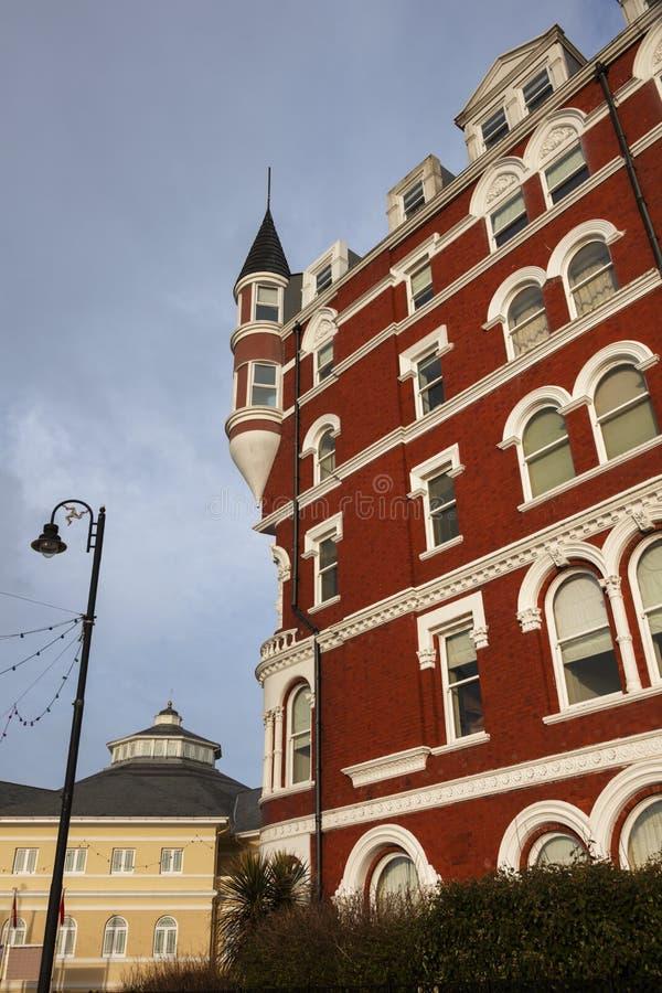 Kolorowa architektura Douglas zdjęcia stock