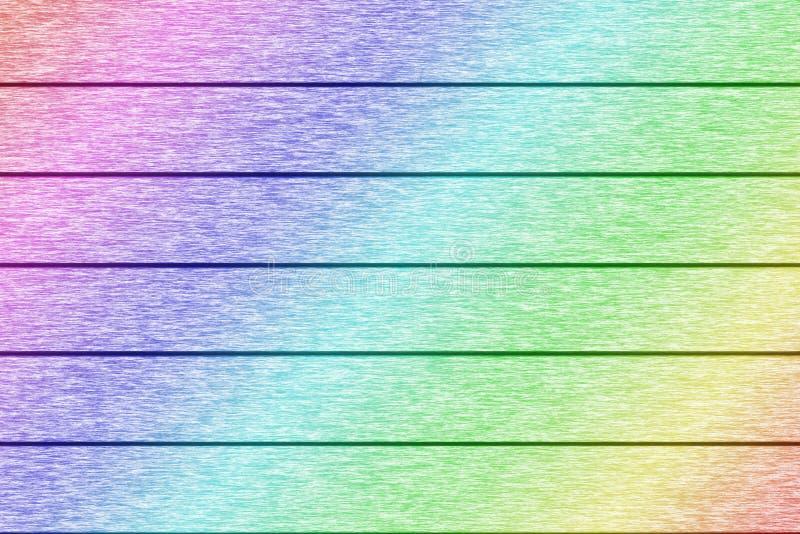Kolorowa drewniana deski tekstura dla tła obraz royalty free
