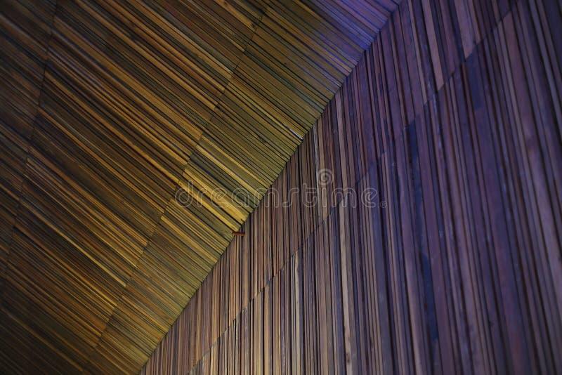 Kolorowa drewniana tekstura z naturalnymi wzorami zdjęcie stock
