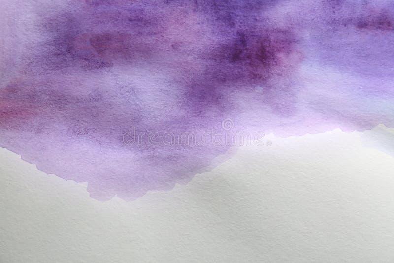 Kolorowa farba na bielu abstrakcyjny t?o zdjęcia royalty free