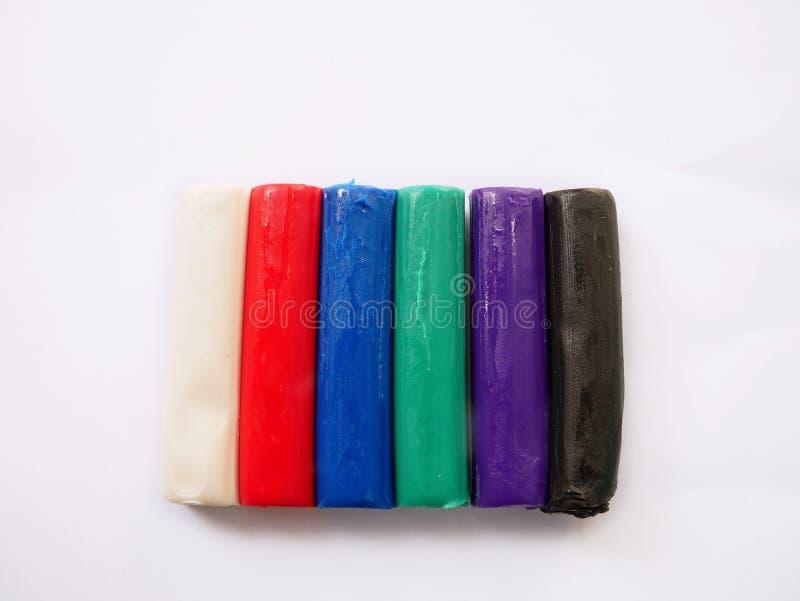 Kolorowa gliny zabawka zdjęcia royalty free