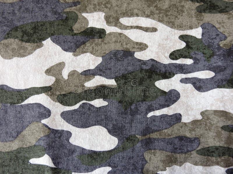 Kolorowa kamuflaż tkanina, może używać jako tło obrazy stock