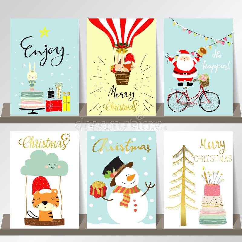Kolorowa kolekcja dla sztandarów, ulotki, plakaty z drzewem, tort ilustracja wektor