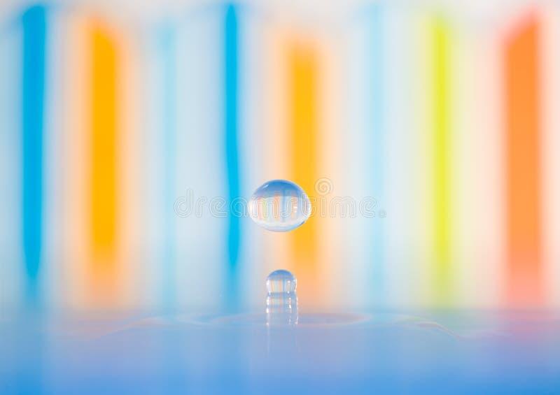 Kolorowa kropla obrazy stock