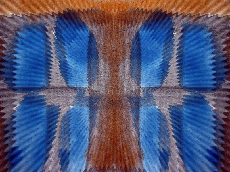 Kolorowa malująca nawierzchniowa tekstura na papierze ilustracja wektor