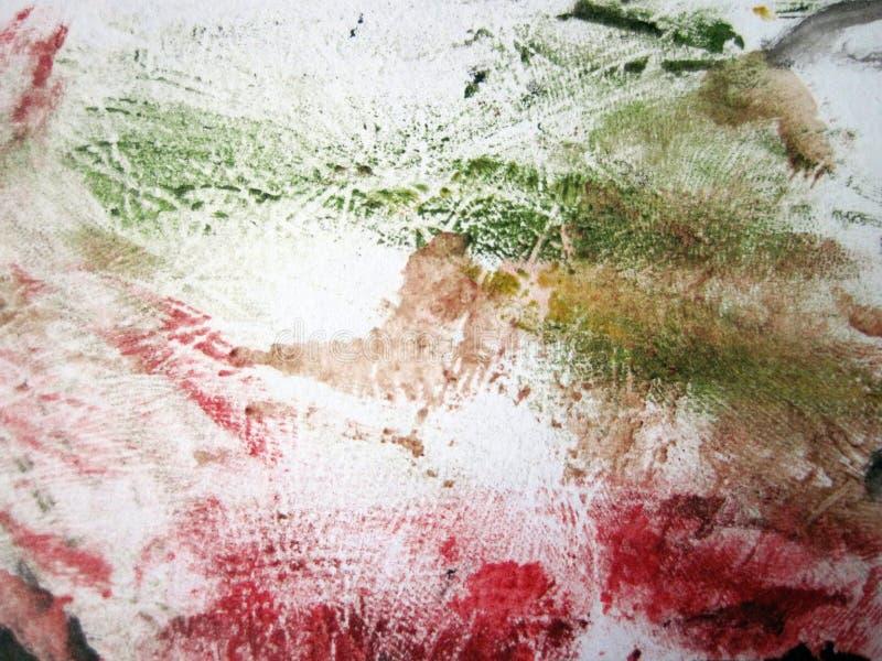 Kolorowa malująca nawierzchniowa tekstura na papierze ilustracji