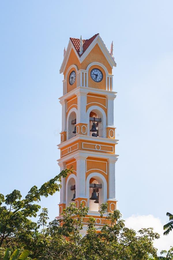 Kolorowa meksykańska architektura w Jukatan obrazy royalty free