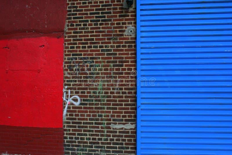 kolorowa miastowa ściana obrazy royalty free