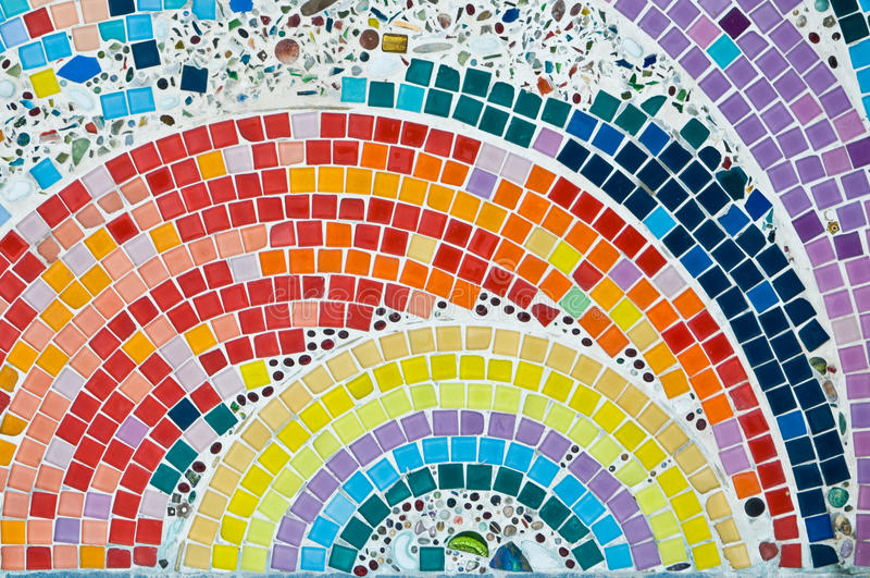Kolorowa Mozaika obraz royalty free