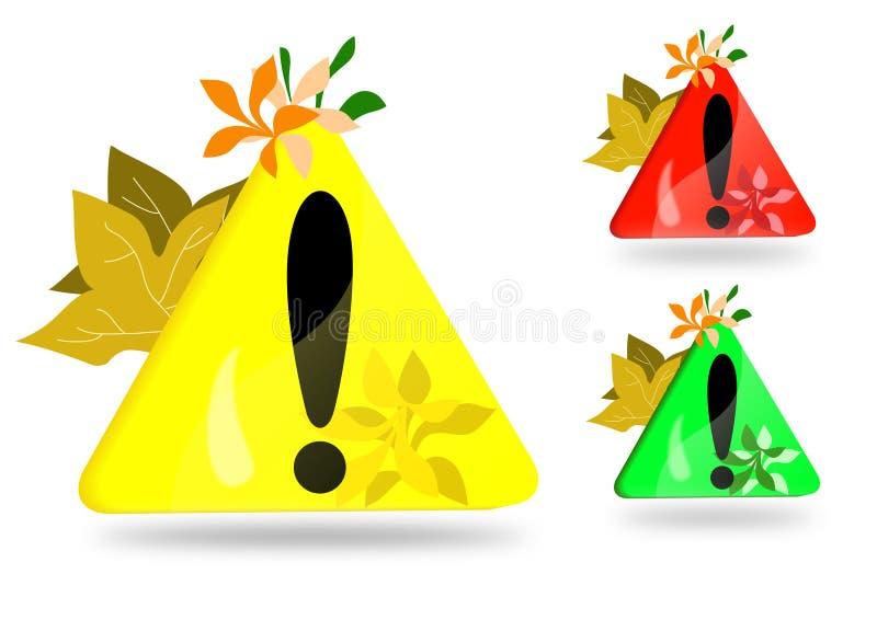 kolorowa okrzyka ikony ocena ilustracji