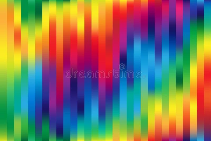 kolorowa tło siatka royalty ilustracja