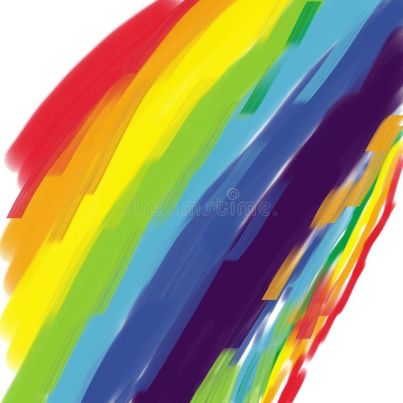 kolorowa tło tęcza zdjęcia stock