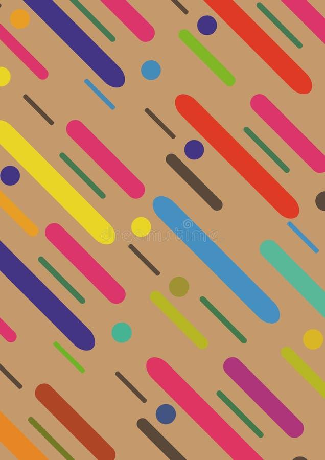kolorowa tło tekstura Obowiązujący dla sztandarów, plakaty, plakaty, ulotki royalty ilustracja