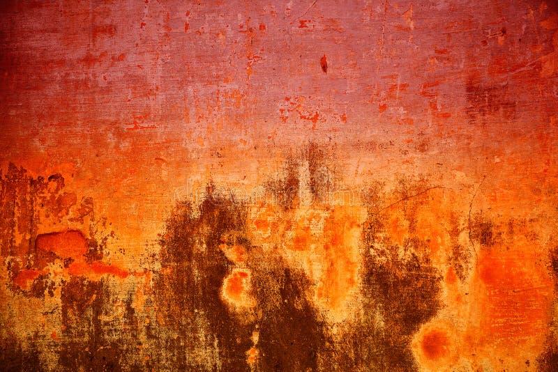 Kolorowa tło tekstury cementu ściana Abstrakcjonistyczna tekstura jednakowa ogień obraz royalty free
