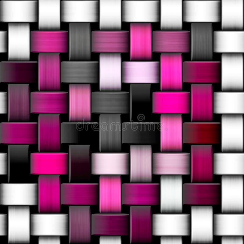 Kolorowa trykotowa tekstura ilustracji