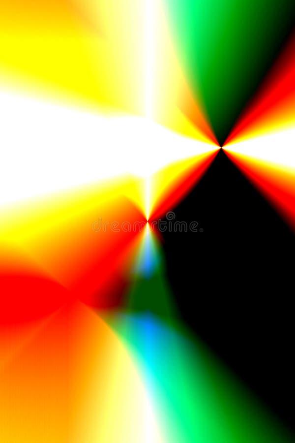 kolorowe światła royalty ilustracja