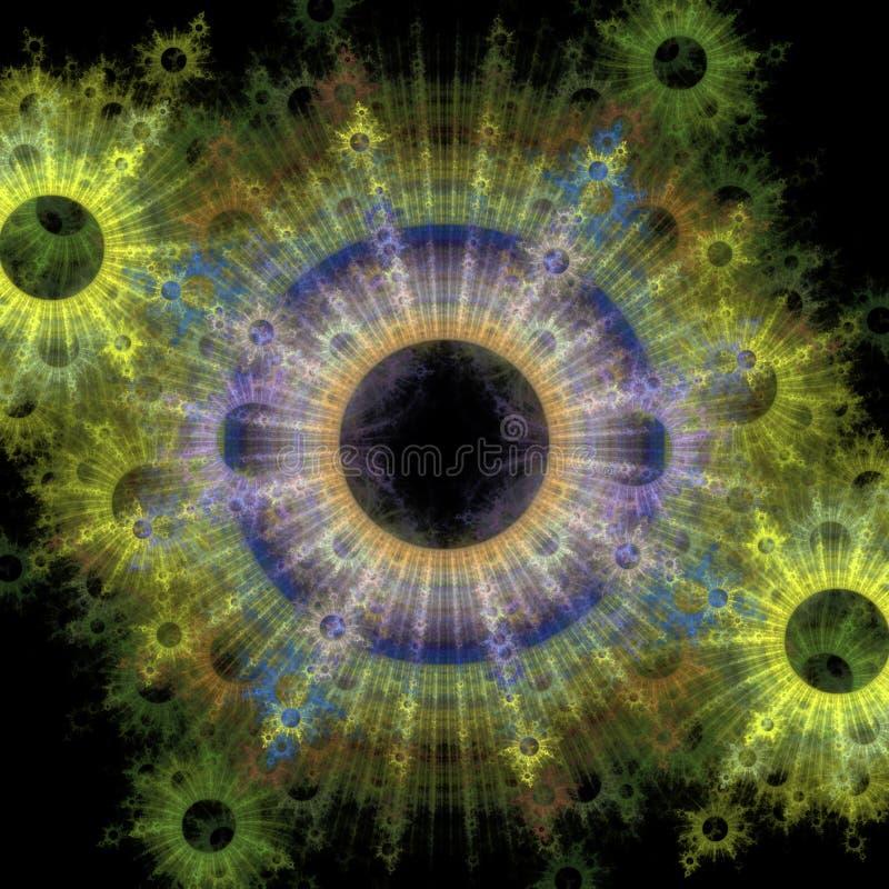 Kolorowe bakterie royalty ilustracja
