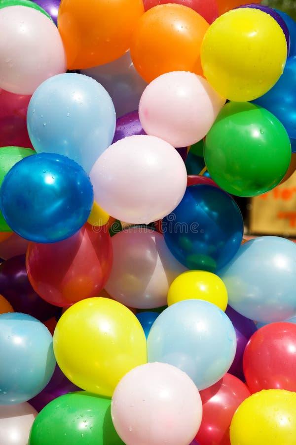 kolorowe balony powietrzne obrazy royalty free