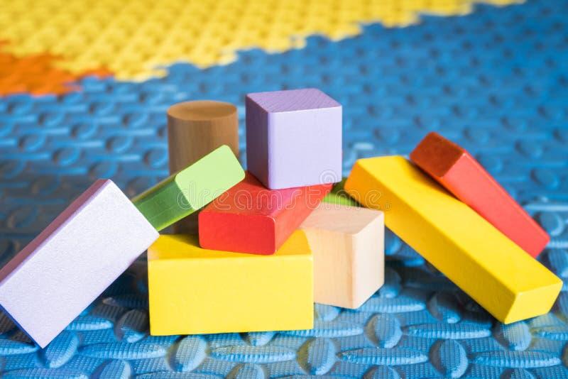 Kolorowe blok zabawki obraz royalty free