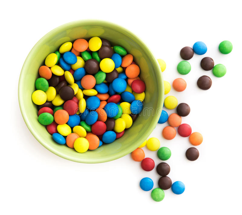Download Kolorowe cukierki obraz stock. Obraz złożonej z wakacje - 53791517